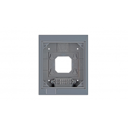 Wall mounted enclosure for...